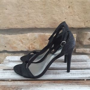 Fioni Black High Heels